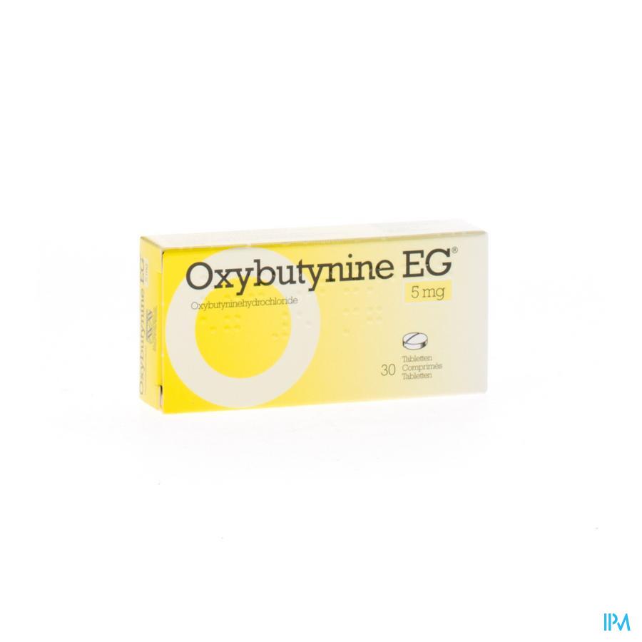 Oxybutynine EG Tabletten 30 X 5 mg