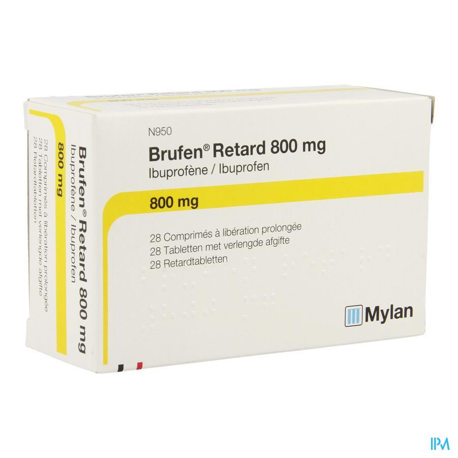 Brufen Retard Comp 28 X 800mg