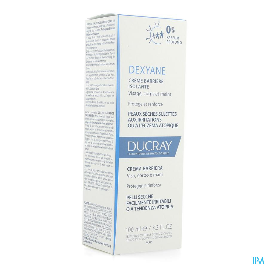 Ducray Dexyane Creme Barriere Isolante 100ml