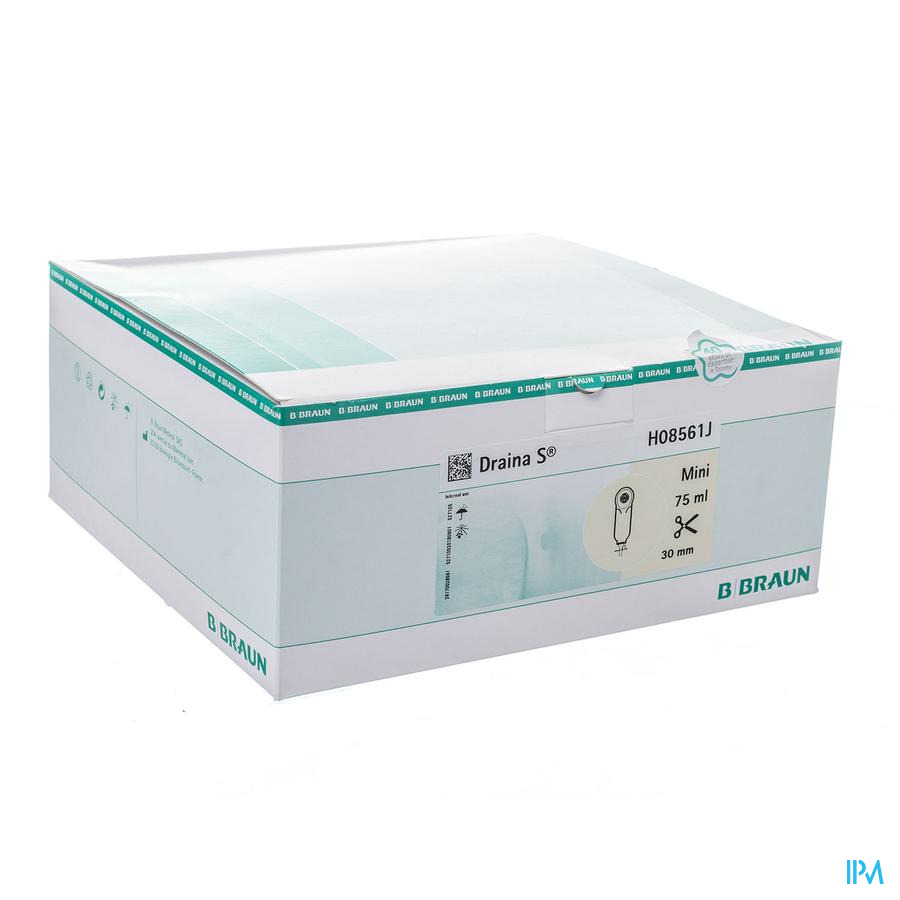 Draina S Mini Zakjes Transp N/ster 10mm 30 H08561j