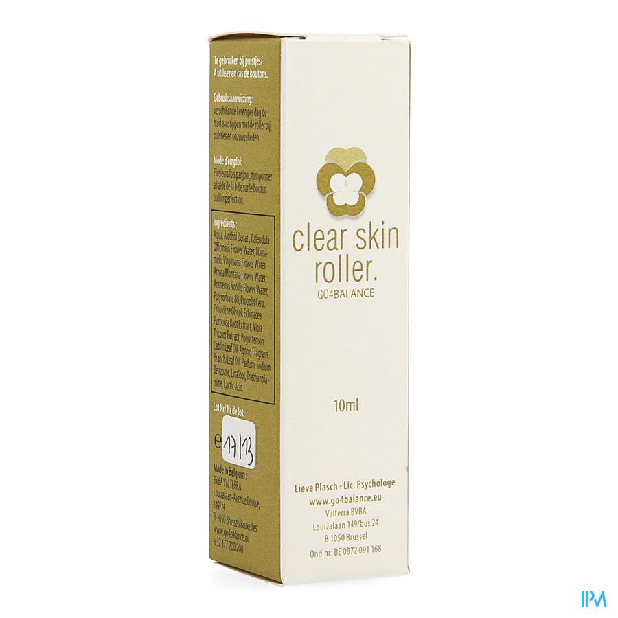 Clear Skin Roller 10ml