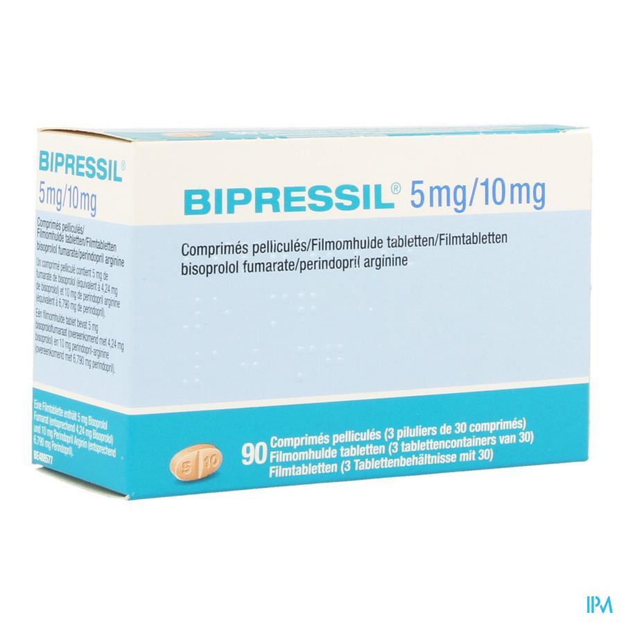 Bipressil 5 mg/10 mg Filmomhulde Tabletten 90
