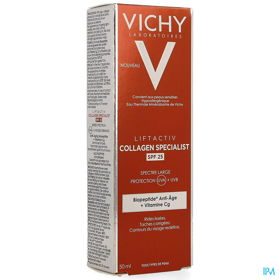 Vichy Liftactiv Collagen Specialist Ip25 50ml