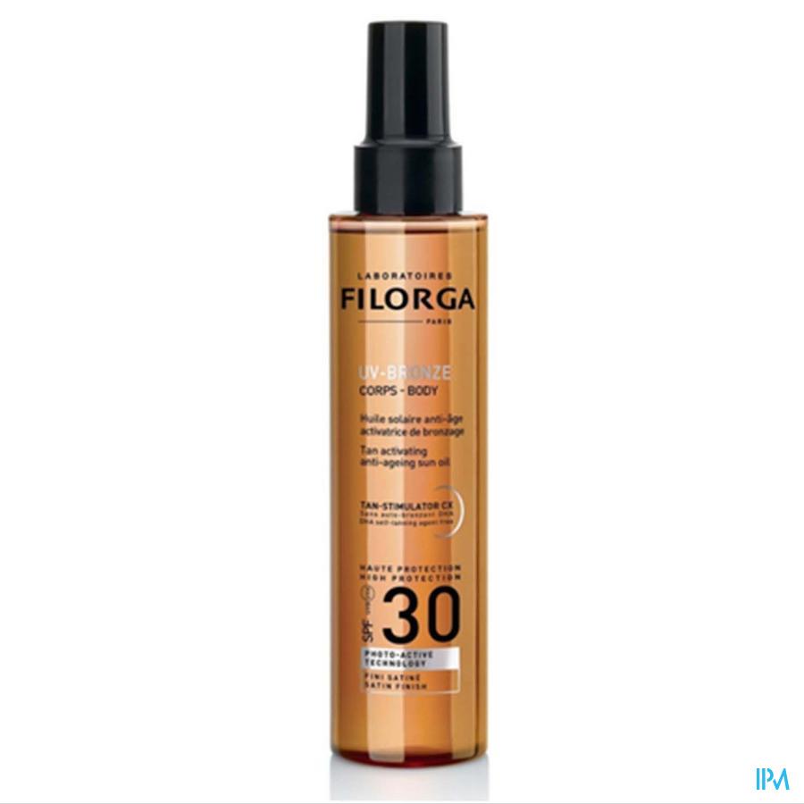 Filorga Uv Bronze Zonneolie Ip30 150ml