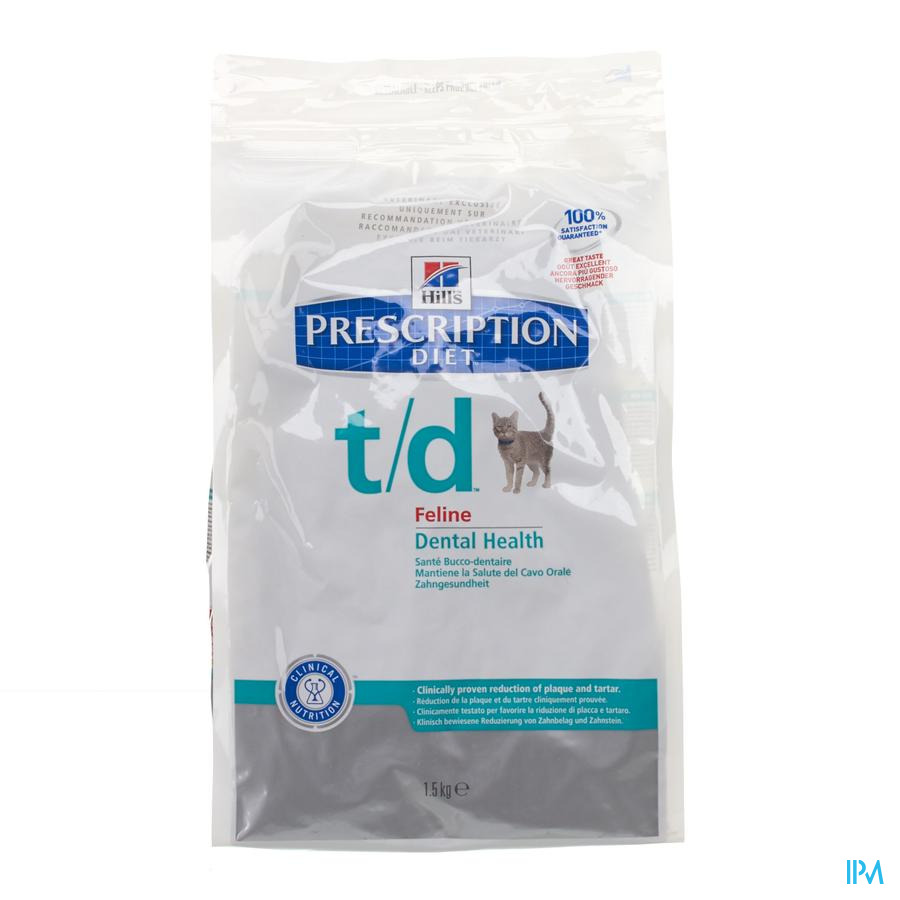 Hills Prescrip.diet Feline Td 1,5kg 8688m