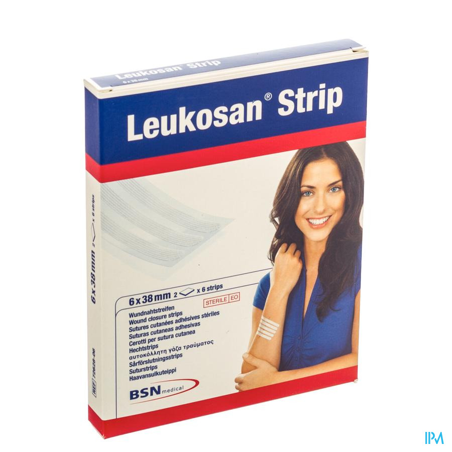 Leukosan Strip Ster 6x 38mm Blanc 2x 6 7262806
