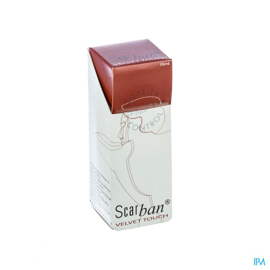 Scarban Velvet Touch Silicone Gel Lipogel Fl 15ml