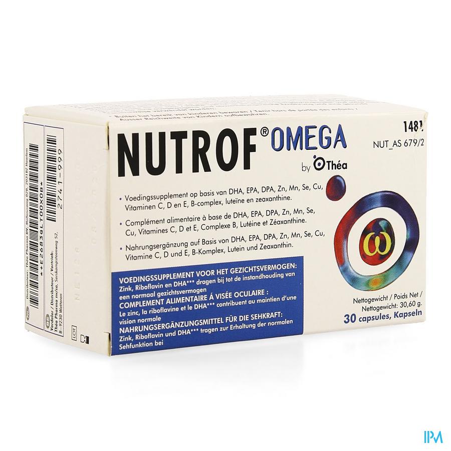 Nutrof Omega Suppl.alim.yeux Capsule 30