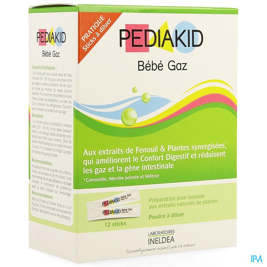 Pediakid Gaz Stick 12