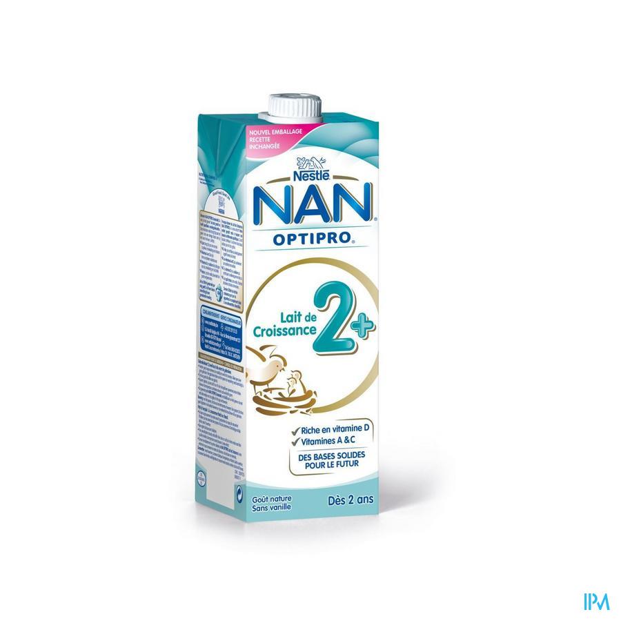 Nan Pro Lait Croissance +2ans Tetrabrick 1l