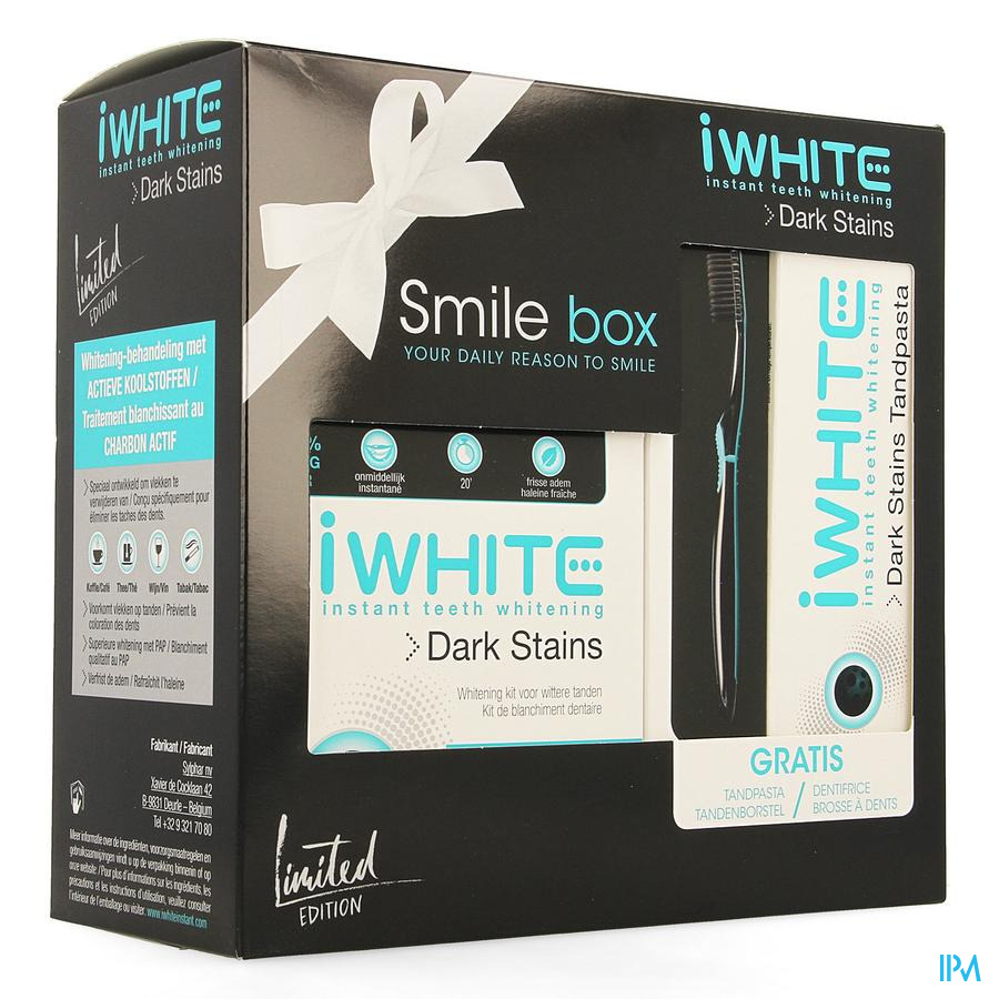 Iwhite Dark Stains Smile Box