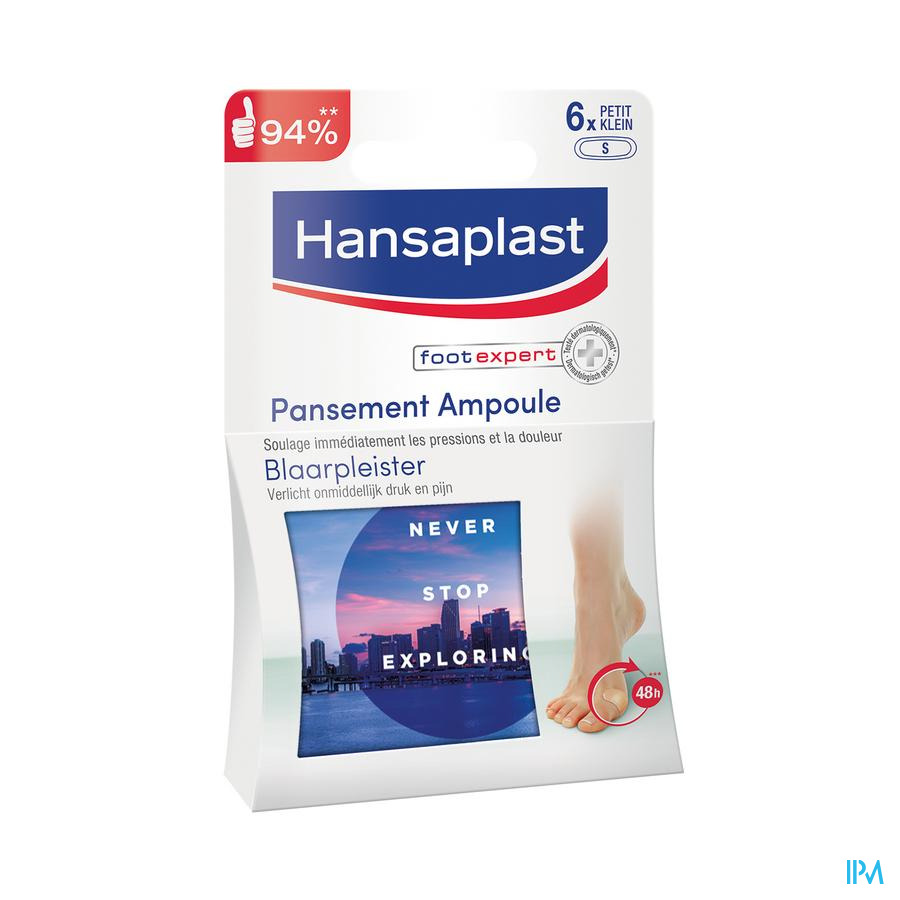 Hansaplast Pansement Ampoules Xl Strip 5
