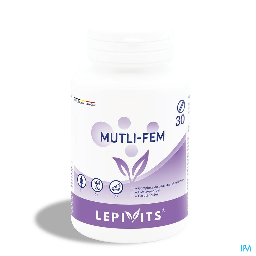 Lepivits Multi Fem Active Pot Comp 30