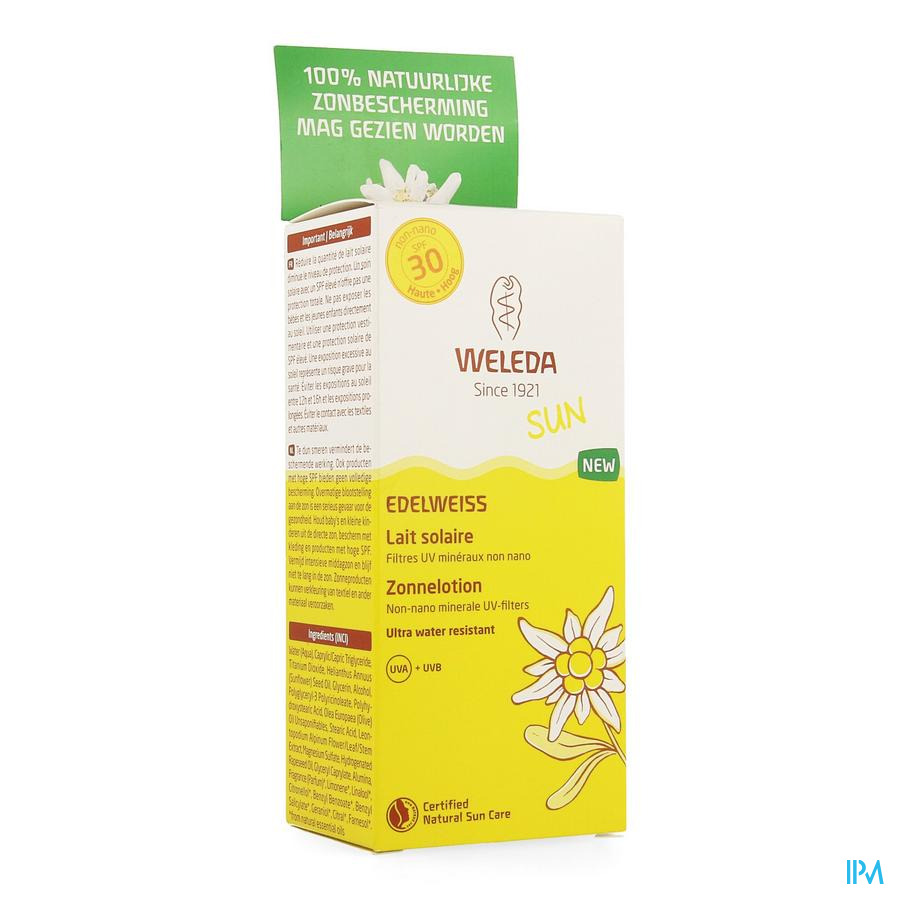 Weleda Edelweiss Zonnelotion Ip30 150ml