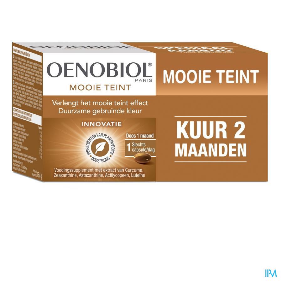 Oenobiol Kuur Mooie Teint Caps 2x30