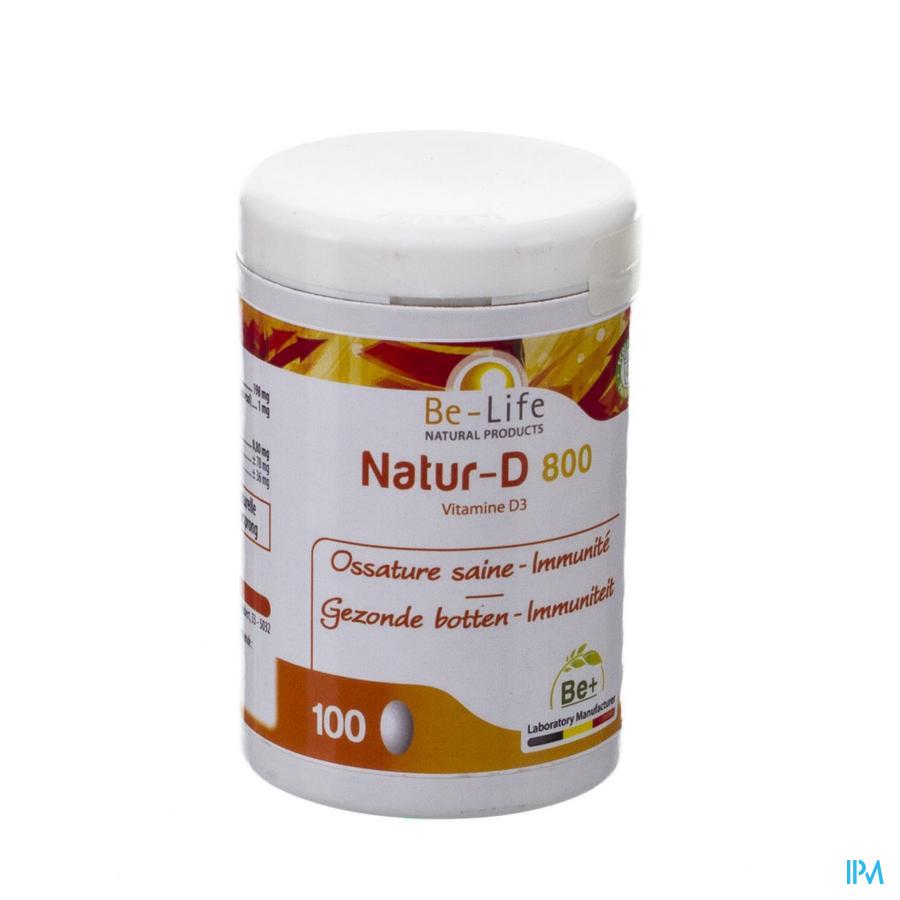 Natur D 800 Be-life Caps 100