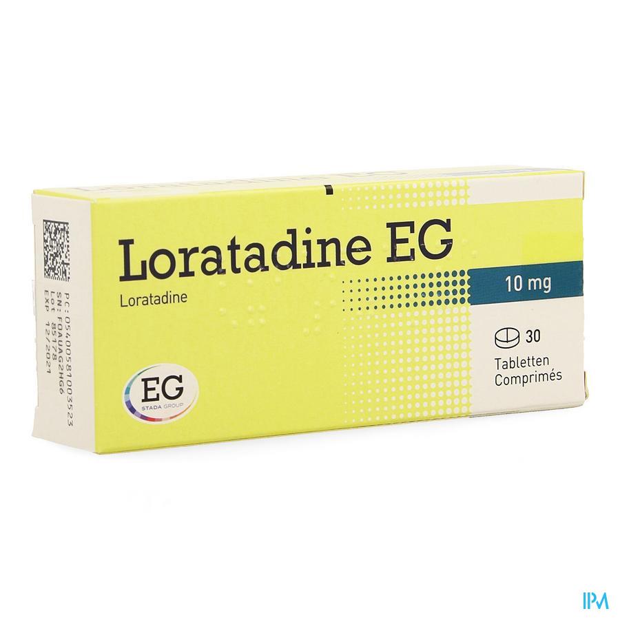 Loratadine Eg 10mg Tabl 30 X 10mg
