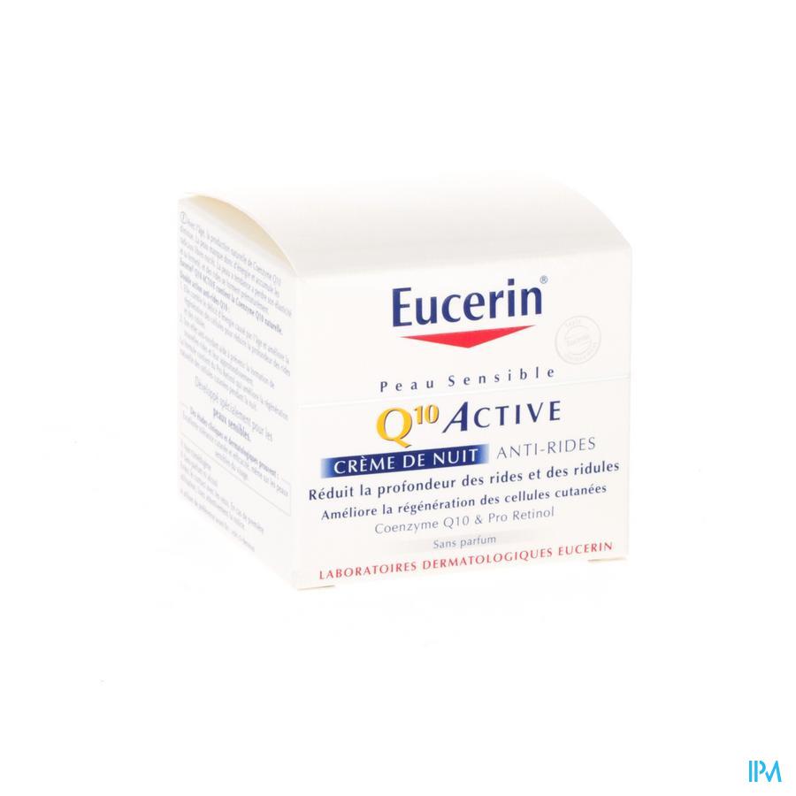 Eucerin Visage Q10 Creme De Nuit 50ml