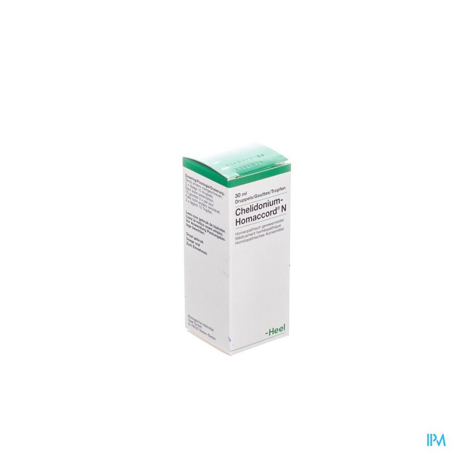 Chelidonium-homaccord N 30ml Heel Cfr 0459461