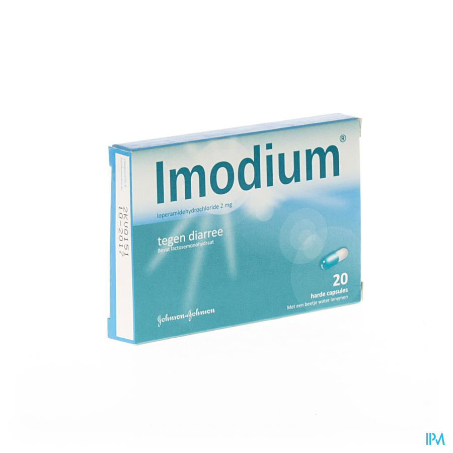 Imodium 2mg Impexeco Caps 20 X 2mg Pip