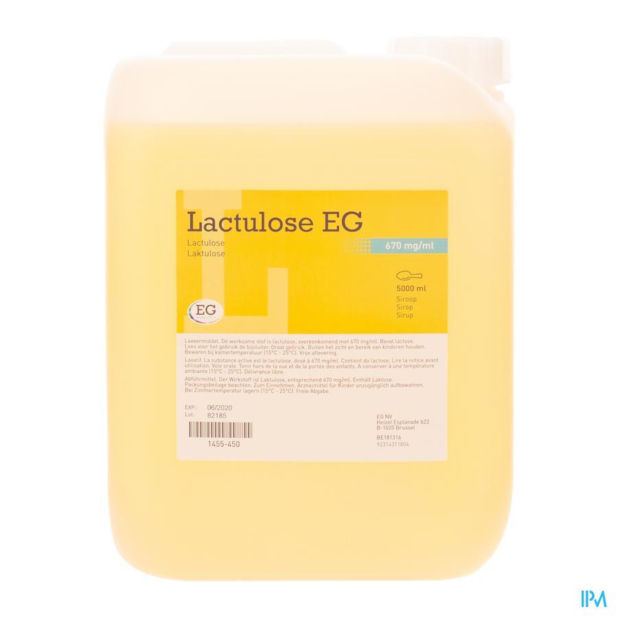 Lactulose Eg Sirop 670mg/ml 5000ml