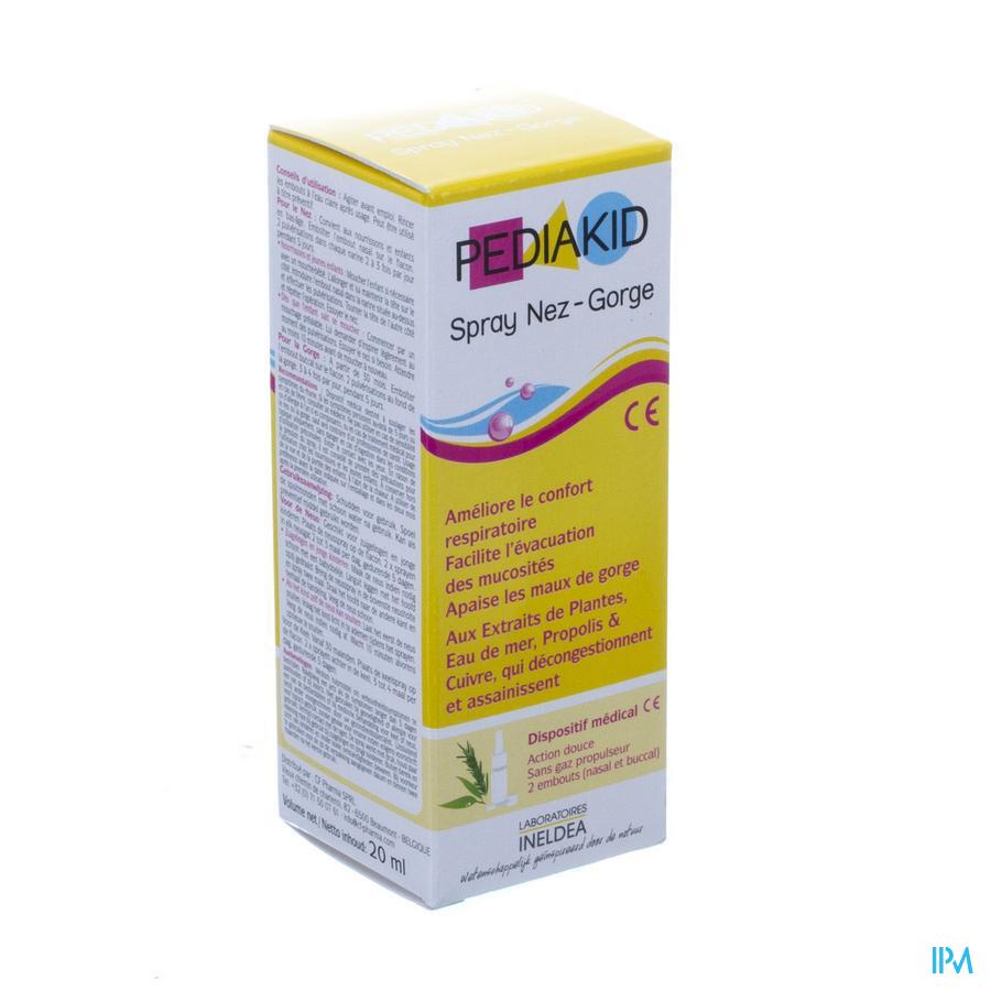 Pediakid Spray Nez-gorge Fl 20ml