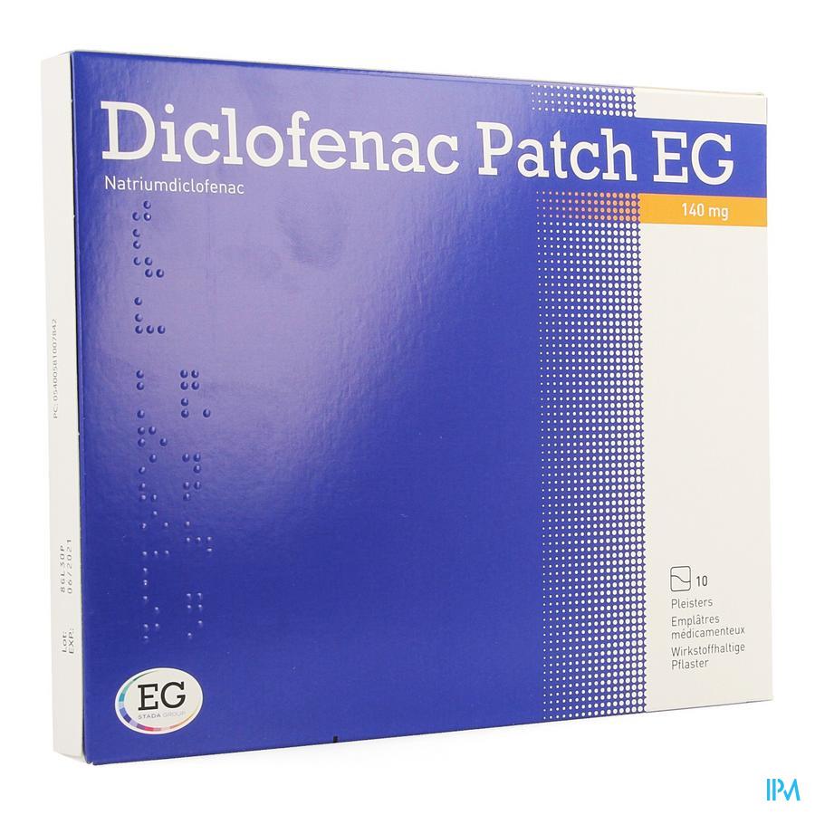 Diclofenac Patch EG 140 mg Emplatre 10