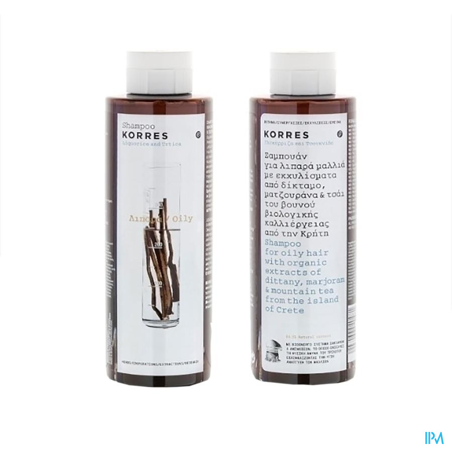 Korres Kh Shampoo Nettle&licor. 250ml