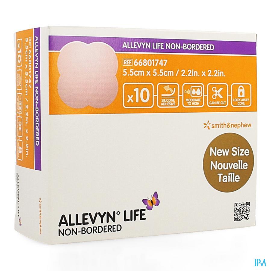 Allevyn Life Non Bordered 5,5x5,5cm 10 66801747