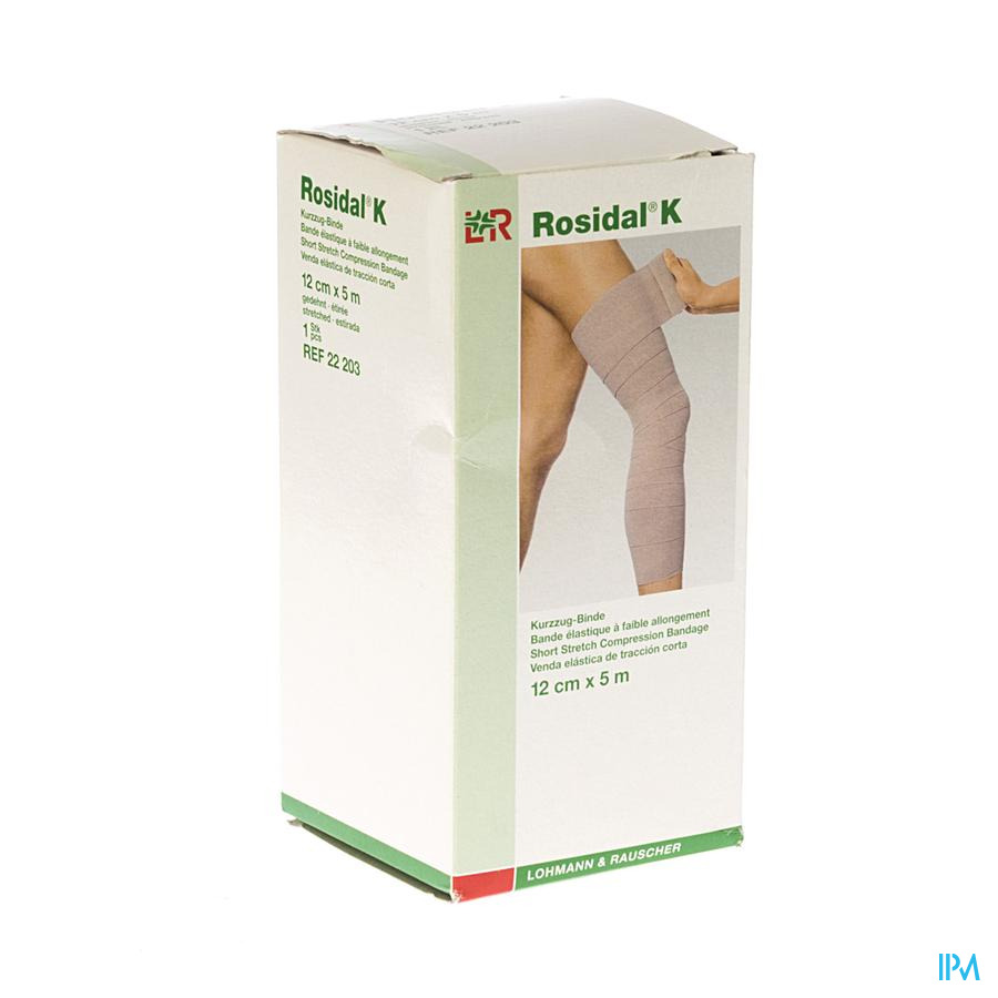 Rosidal K Elastische Windel 12cmx5m 22203