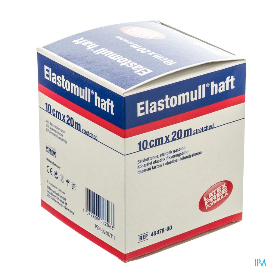 Elastomull Haft S/latex 10cmx20m 4547800