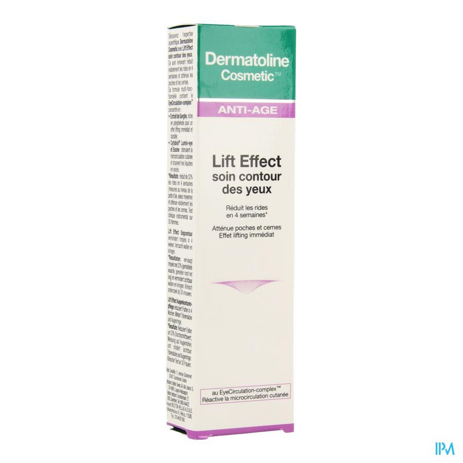 Dermatoline Cosmetic Le Oogomtrek 15ml