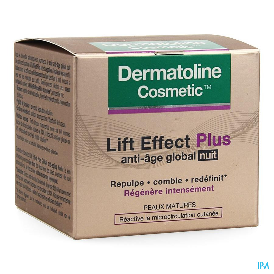 Dermatoline Cosmetic Le+ A/age Cr Global Nacht50ml