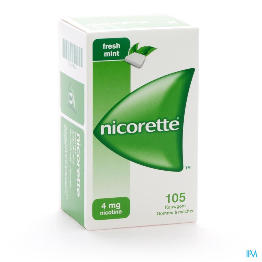 Nicorette Freshmint Kauwgom 105x4mg