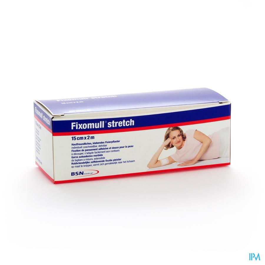 Fixomull Stretch Adh 15cmx 2m 1 0203300