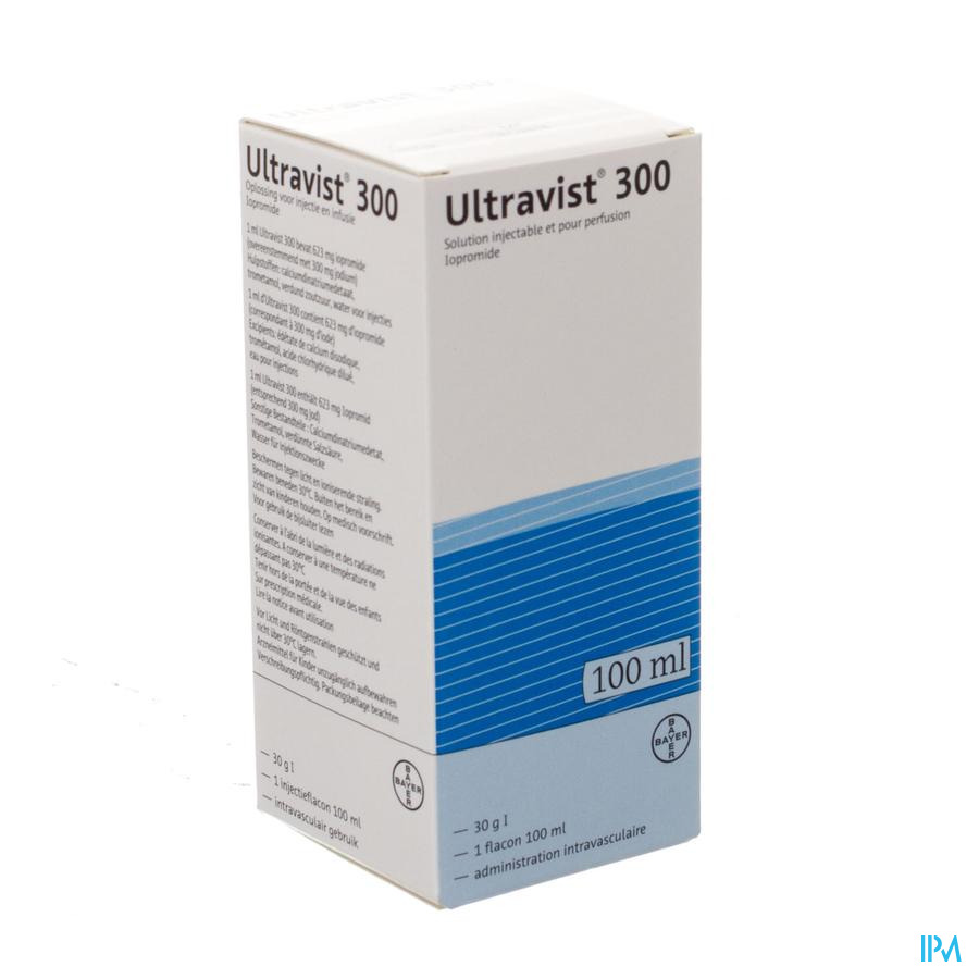 Ultravist 300 Fl Inj 1 X 100ml