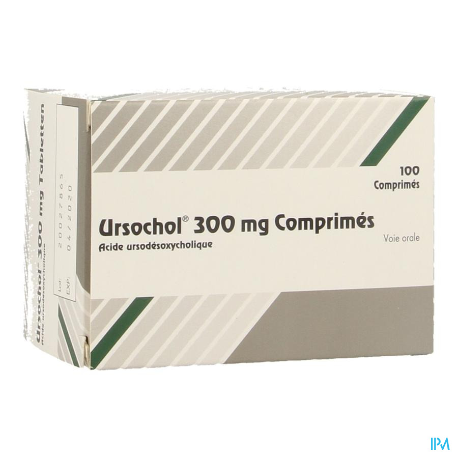 Ursochol 300 Comp 100 X 300mg