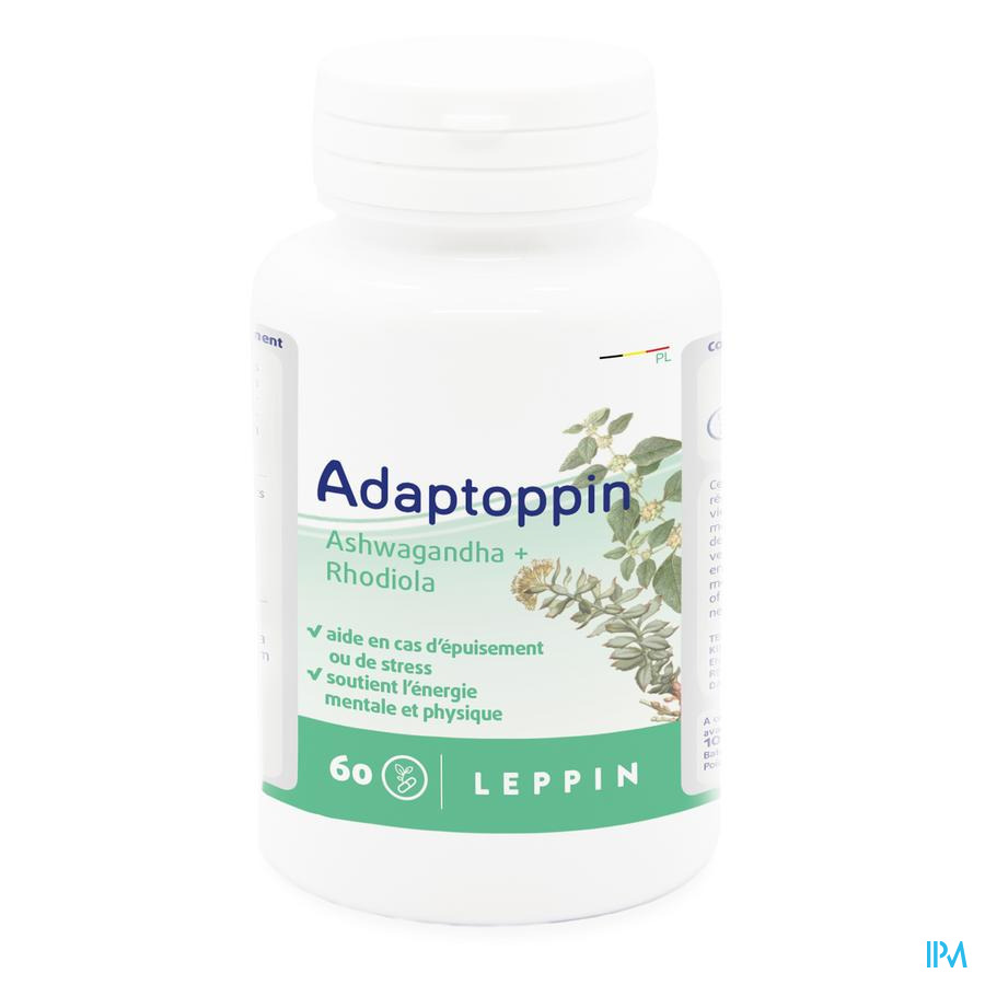 Leppin Adaptoppin Pot V-caps 60