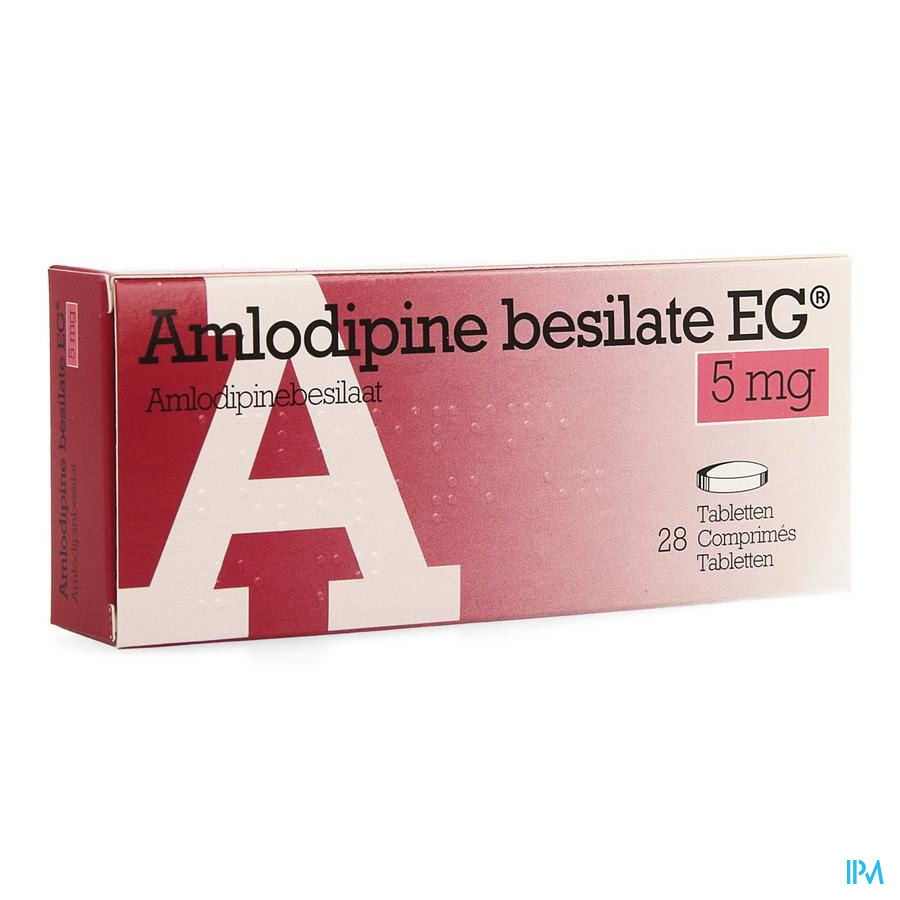 Amlodipine Besilate Eg Comp 28 X 5mg
