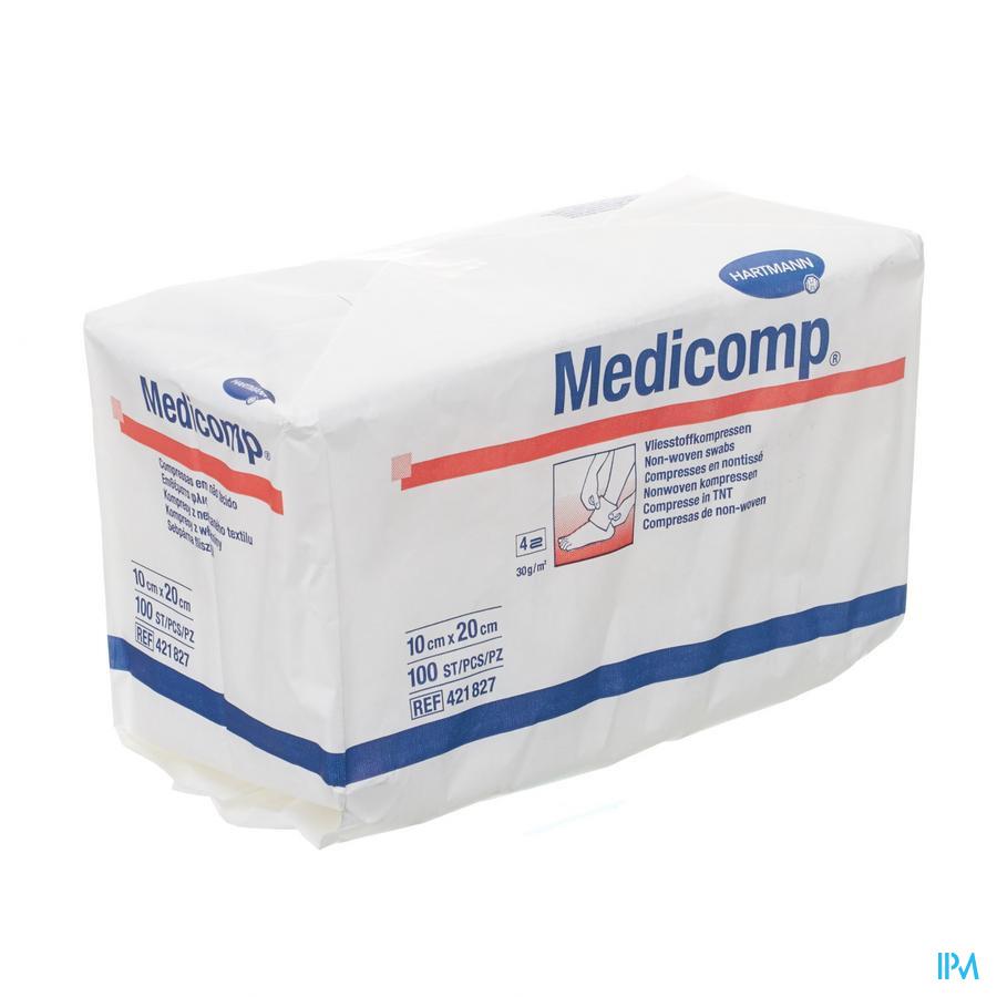 Medicomp 10x20cm 4l. Nst. 100 P/s