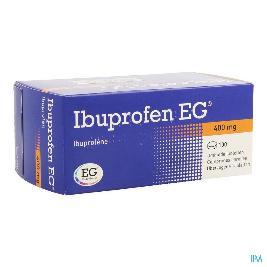 Ibuprofen Eg 400mg Comp Pell 100 X 400mg