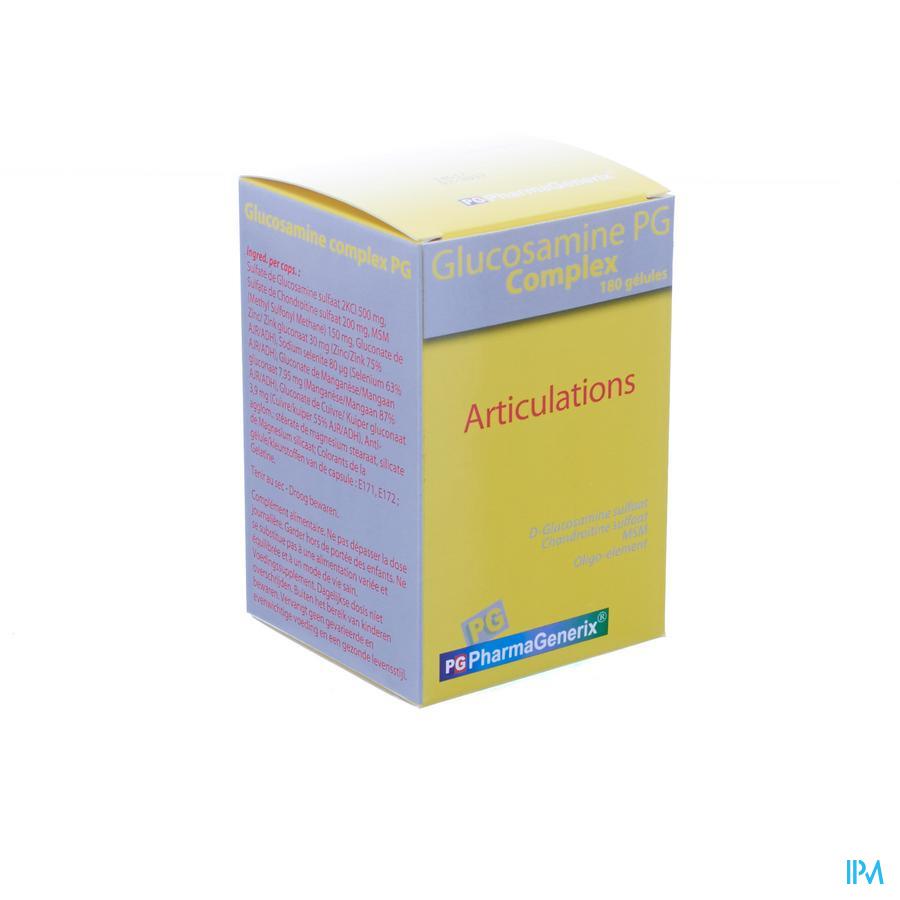 Glucosamine Complex Pg Pharmagenerix Caps 180