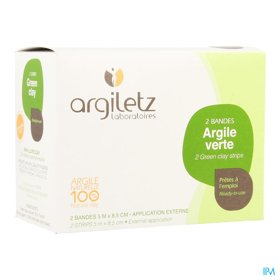 Argiletz Bandargil Bande Argile Verte 5mx11cm 2