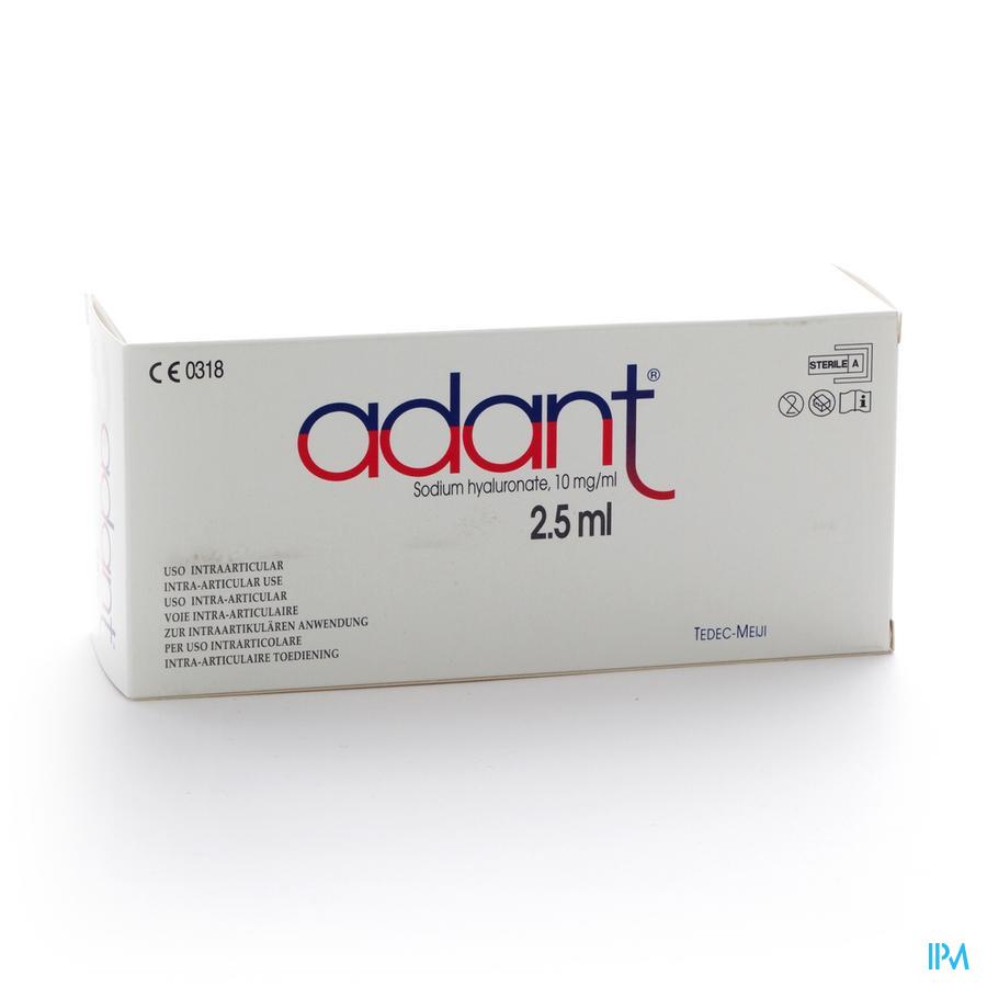 Adant Solution 1% Inj Intra Articul. 3 X 2,5 ml