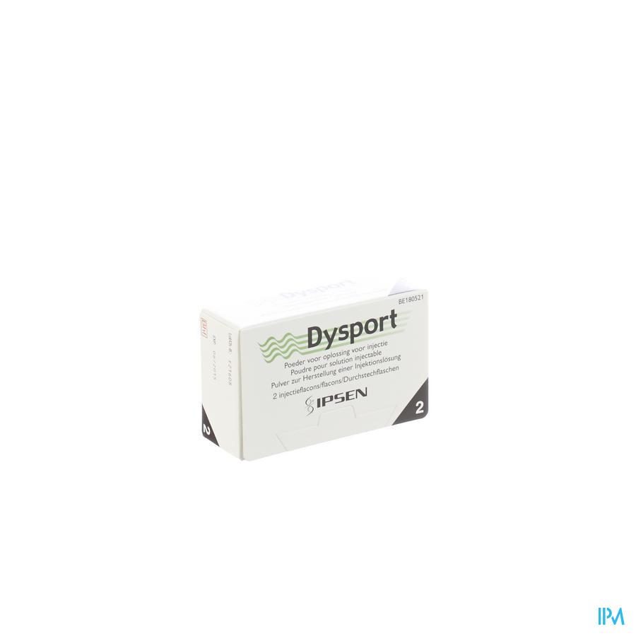 Dysport Pulv Lyoph Sol Inj 2fl 500u
