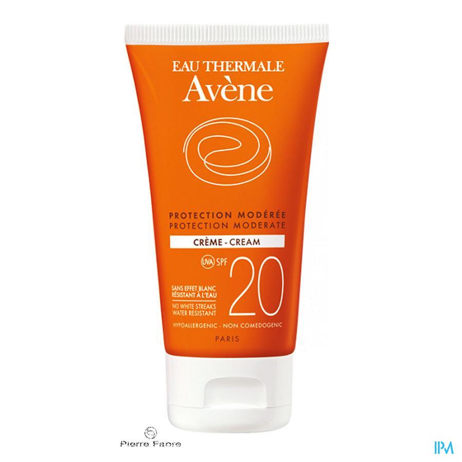 Avene Zon Creme Ip20 Z/parabeen 50ml