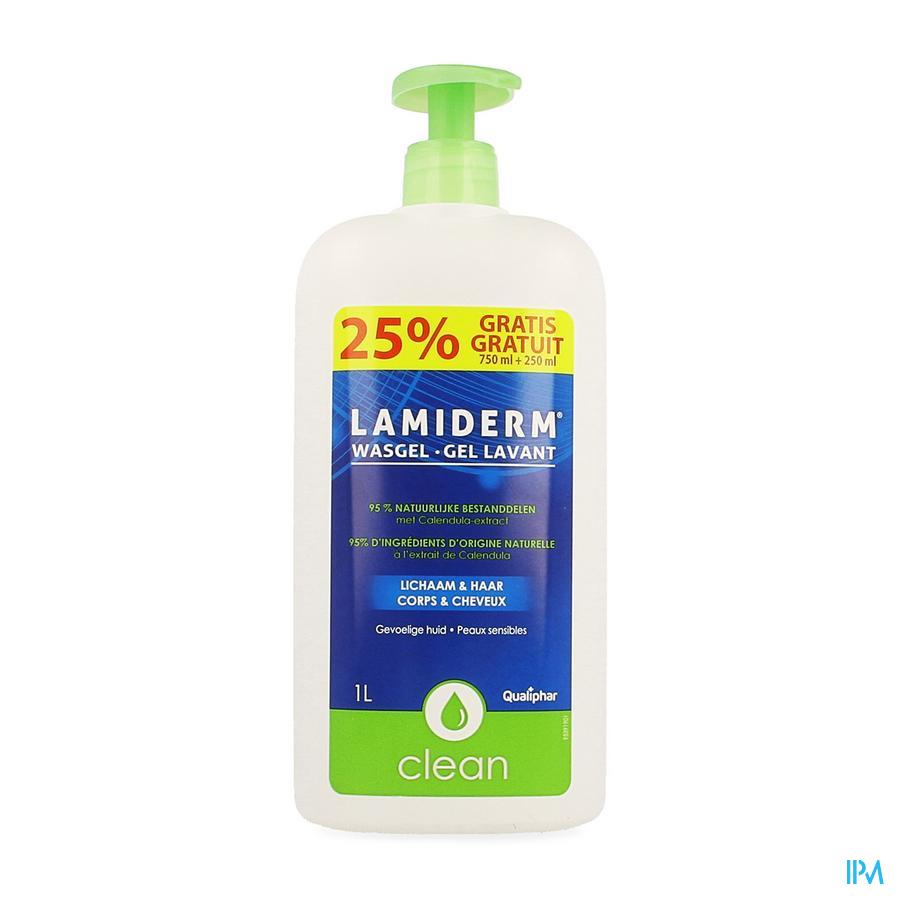 Lamiderm Clean wasgel 1 L