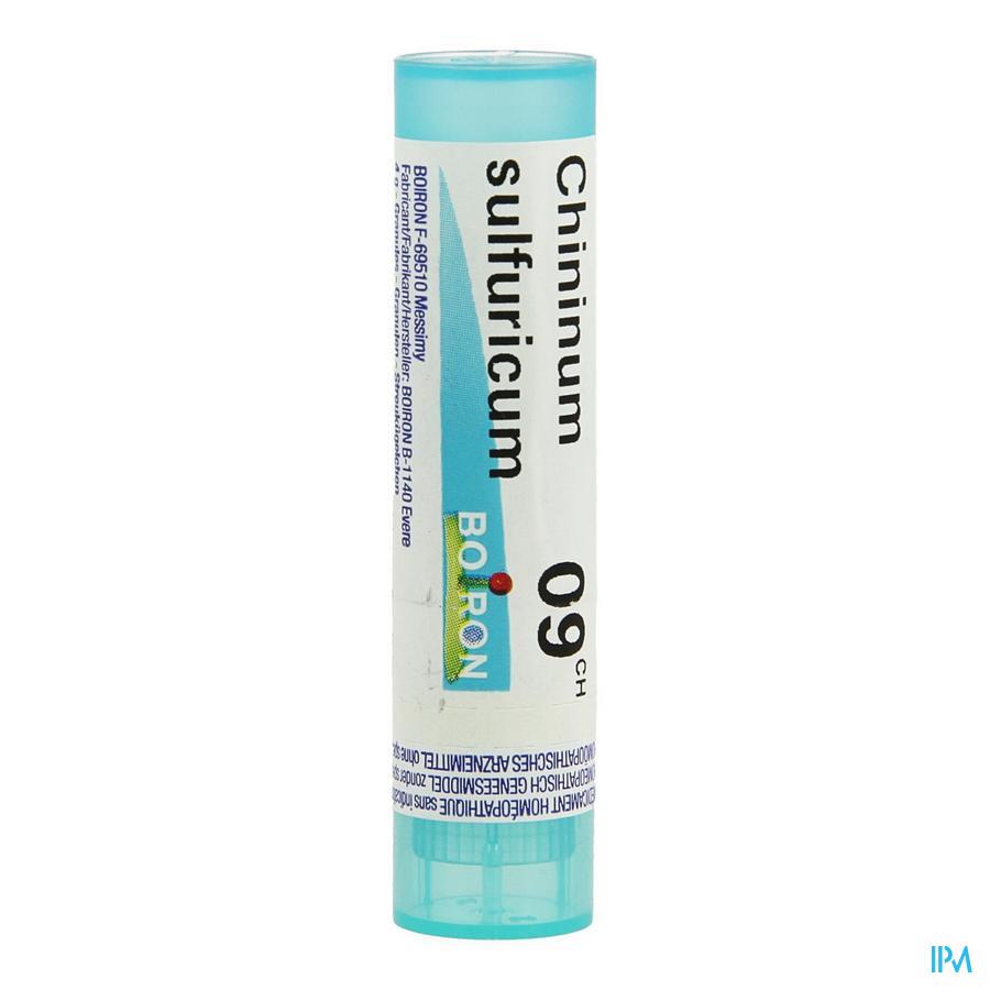 Chininum Sulfuricum 9ch Gr 4g Boiron