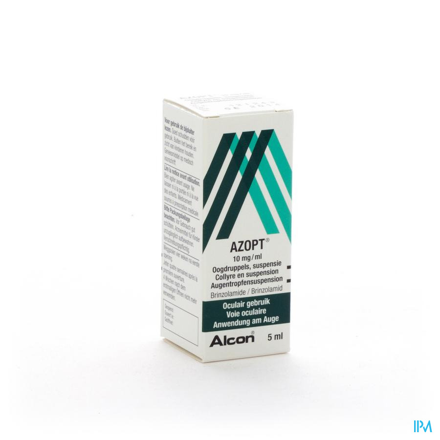 Azopt Collyre 1,0% 5ml