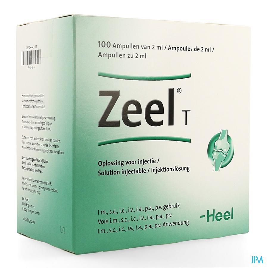 Zeel T Amp 100x2,0ml Heel